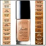 Avon Ideal Flawless Invisible Coverage Liquid Foundation SPF 15 Creamy Natural Z104
