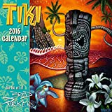 Tiki - The Art of Brad Parker - Hawaii 2016 Deluxe Wall Calendar