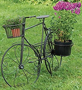 pin garten deko ideen fahrrad blumen dekoration. Black Bedroom Furniture Sets. Home Design Ideas