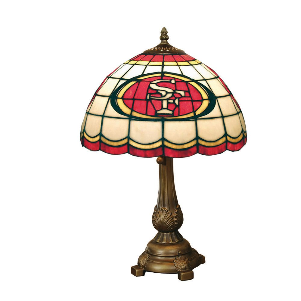 NFL San Francisco 49ers Tiffany Table Lamp