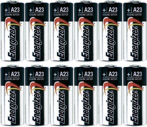Energizer A23 Battery, 12 Volt - 12 Batteries