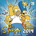 Calendrier Simpson 2014