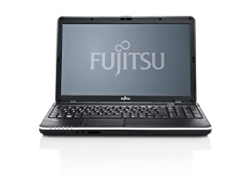 "Fujitsu A512 Ordinateur Portable 15.6 "" 500 Go Windows 7 Home Premium Noir"