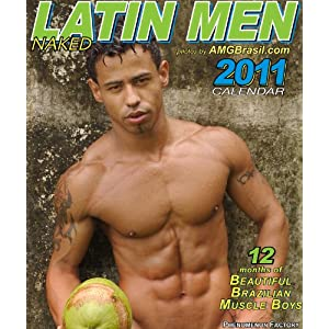 nude latin men