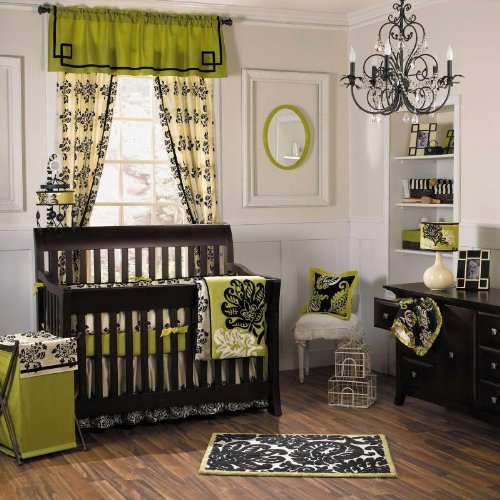 Harlow 4 Piece Baby Crib Bedding Set by Cocalo Couture