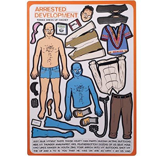 Arrested Development - Tobias Funke Dress Up Magnet Set