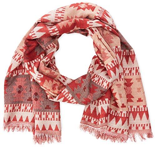 VERO MODA - VMCHRISTA LONG SCARF, Sciarpa da donna, rosso (rosewood/tribal look as), unica (Taglia produttore: unica)