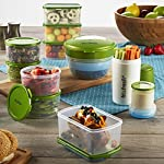 Perfect Portion Container Kit with Breakfast Chiller and Snacker