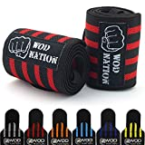 Wrist Wraps by WOD Nation - Wrist Support Straps (12