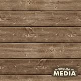 "Hampton Art Mix The Media Wooden Plank Plaque, 12"" by 12"""