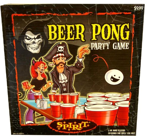 Halloween Beer Pong Party Game - 1