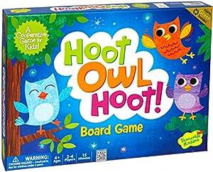 Peaceable Kingdom / Hoot Owl Hoot! Award Winning Cooperative Game for Kids