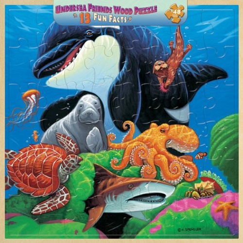 Cheap Masterpieces Undersea Friends 48 Piece Jigsaw Puzzle (B0014BDZ8S)