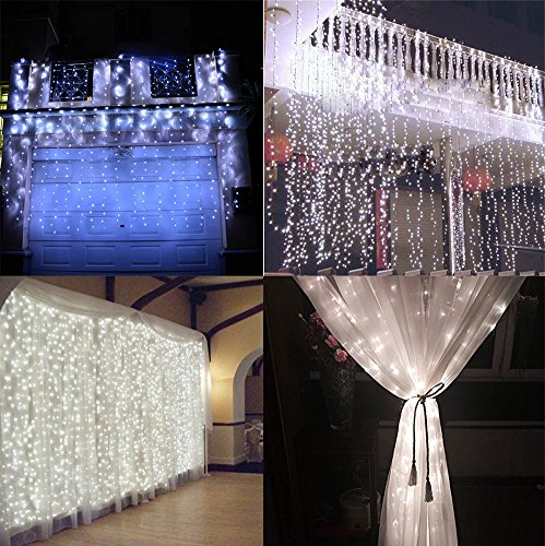 Indoor curtain lights