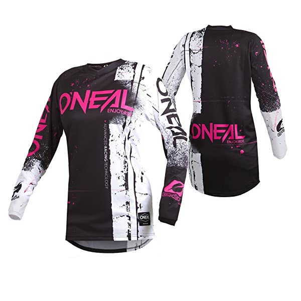Blue//Red, X-Large ONeal Yth Element Unisex-Child Afterburner Jersey