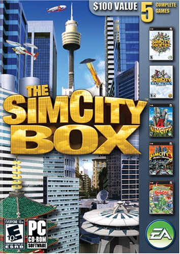 The Simcity Box - Pc front-245984