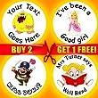 Personalised Teacher Parent Children Child Kid Reward Stickers School