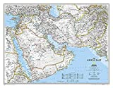 Middle East, tubed Wall Maps Countries & Regions: NG.P620079 (Reference - Countries & Regions)