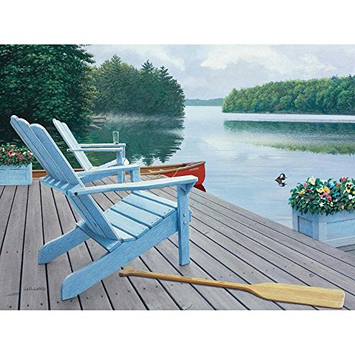 Lang Lakeside Retreat by David Ward Jigsaw Puzzle (500-Piece)