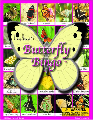 Butterfly Bingo Board Game