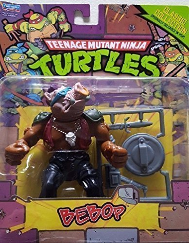 Teenage Mutant Ninja Turtles, Classic Collection, Bebop Action Figure, 4 Inches