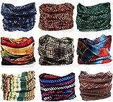 Kingree Outdoor Multifunctional Sports Magic Scarf, High Elastic Magic Headband with Uv Resistance, Headscarves, Headbands,(Noble)