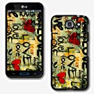 Design Collection Hard Phone Cover Case Protector For LG OPTIMUS G PRO E980 AT&T #2536