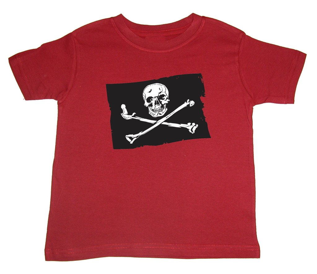 Jolly Roger Tshirt by Sticky Bananas