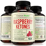 Weight Loss Supplement Raspberry Ketones 1000mg, Non-Gmo, 100% All Natural, Gluten Free. Most Pure Appetite Suppressant, Metabolism Booster, Fat Burner & Carb Blocker that Works. Made in the U.S.A.
