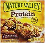 Nature Valley Protein Bars,Peanut, Almond and Dark Chocolate, 7.1-Ounce (Pack of 4)