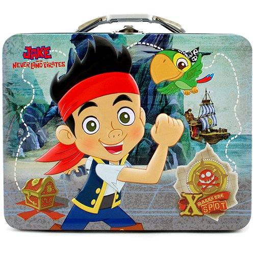 Jake and the Never Land Pirates Tin Carry All [Marks the Spot] - 1
