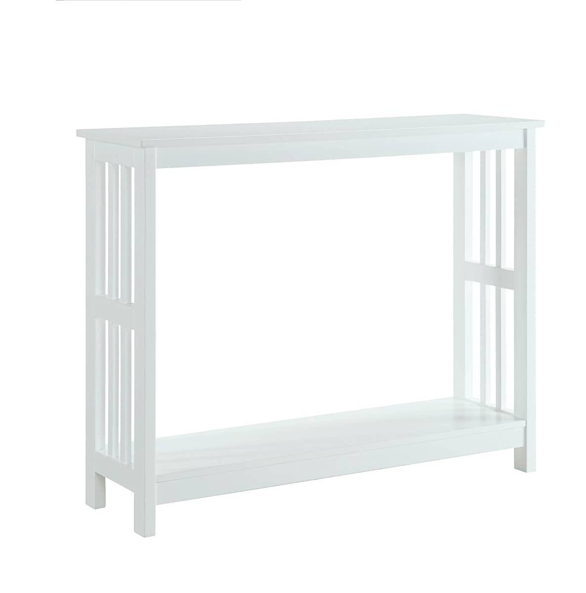 Convenience Concepts Mission Console Table, White