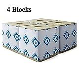 Rockwool Blocks with Hole, 6