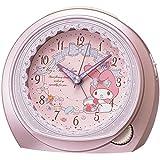 SEIKO CLOCK(セイコークロック) マイメロディ クオーツ目覚まし時計(ピンクメタリック塗装) CQ143P CQ143P