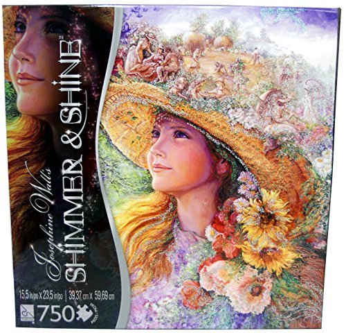 Josephine Wall's Shimmer & Shine 750 Piece Jigsaw Puzzle - Bygone Summer