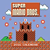 img - for Super Mario Brothers 2016 Wall Calendar book / textbook / text book