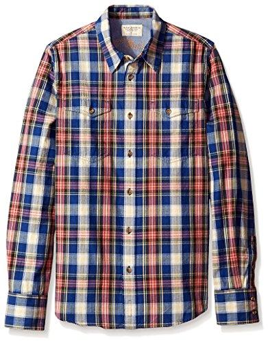 nudie-jeans-mens-gunnar-shirt-herringbone-check-m