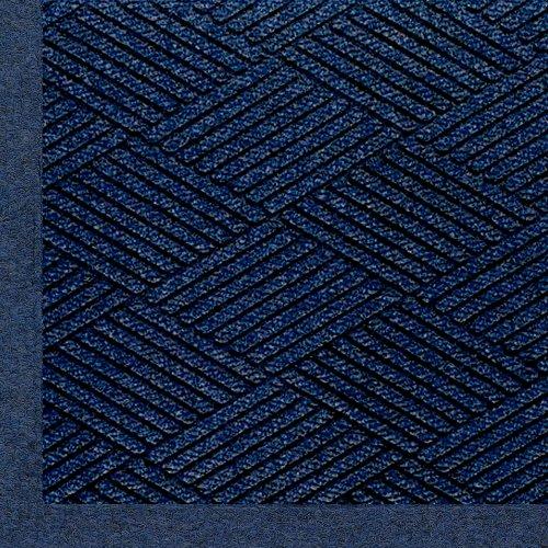 Andersen 2297 Indigo Pet Polyester Waterhog Eco Premier Fashion Entrance Mat, 4' Length X 3' Width, For Indoor/Outdoor front-572593