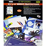 "Pioneer Photo Albums RW-SB25 Bulk Sheet Protectors for 8.5 x 11"" Pages (Pack of 25)"