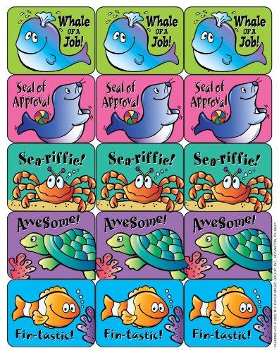 Eureka Ocean Life Stickers