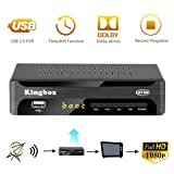 Digital Converter Box for Analog TV, Leelbox Q03S ATSC Converter Box HD 1080P with Record, Pause Live TV, USB Multimedia Playback, and HDTV Set Top Box [2018 Update Version] (Color: Q03S)