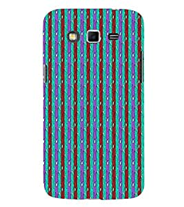 Lines Road Blue Green Red 3D Hard Polycarbonate Designer Back Case Cover for Samsung Galaxy Grand 2 G7102 :: Samsung Galaxy Grand 2 G7106