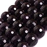 Amethyst Beads for Jewelry Making Genuine Natural Semi Precious Gemstone 12mm Round Faceted AAA Grade Purple Strand 15