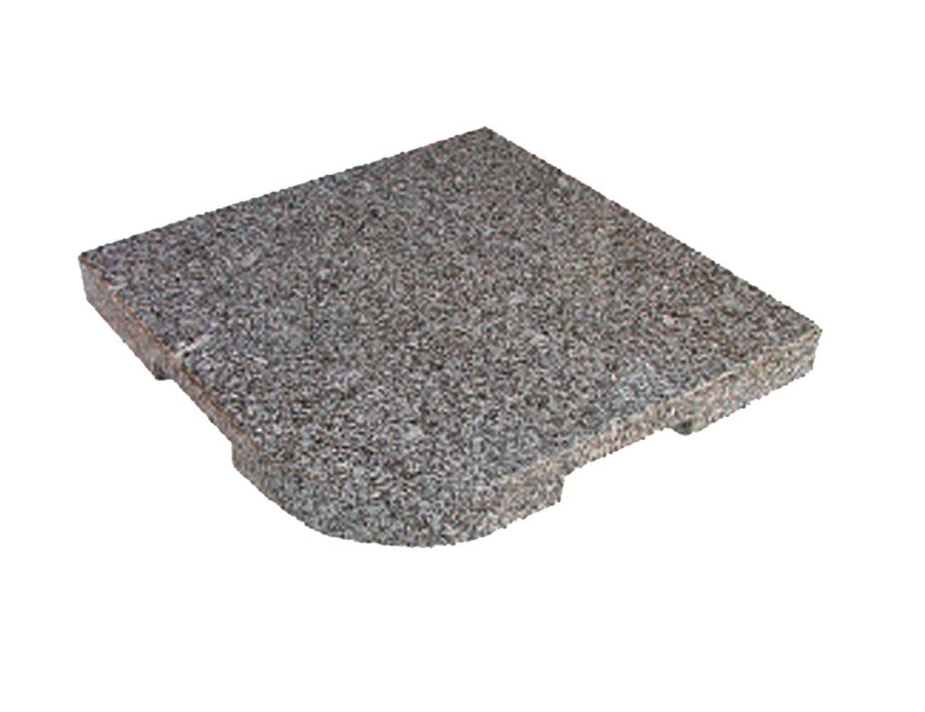 DELSCHEN 8456-900-170 Granit-Platte 25 Kg, 480 x 480 x 40 mm, grau günstig online kaufen