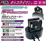 AREA オトコタイマン。 搭載可能HDD S-ATA形状 2台 接続USB2.0 e-SATA デュプリケーター機能搭載 SD-U2EHD2