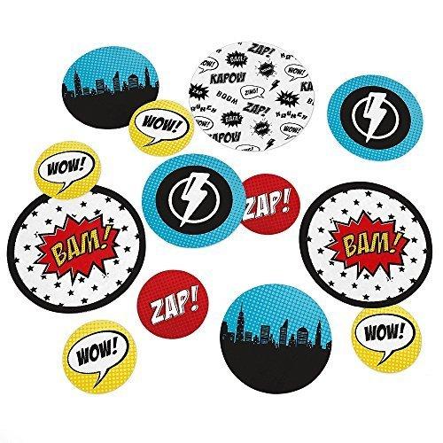 BAM! Superhero - Party Table Confetti - 27 Count