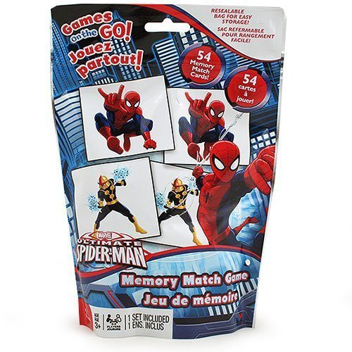 Ultimate Spider-Man Memory Match Game - Travel Edition