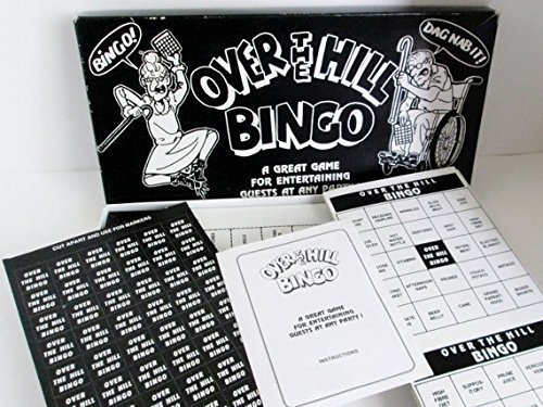 """OVER THE HILL"" BINGO [Toy]"