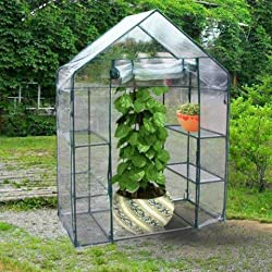 "Quictent® New Mini High Quality 56""x29""x77"" Portable Green House 6 shelves Greenhouse"