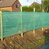 1M X 10M HEAVY DUTY WINDBREAK SHADE NETTING GREEN PRIVACY FENCE WITH EYELETS